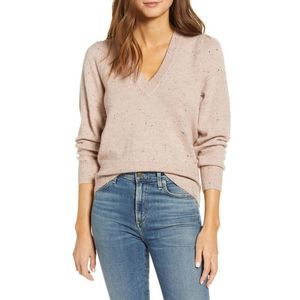 Madewell Donegal Westgate V-Neck Pullover Sweater